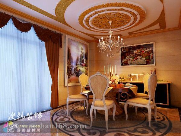 描金罗马柱造型;板式天花造型吊顶;天花造型板式浮雕;电视背景墙欧式