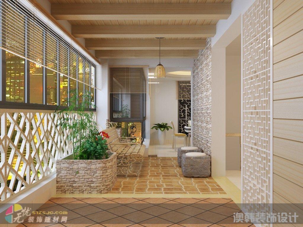 图片标题:中式风格·阳台